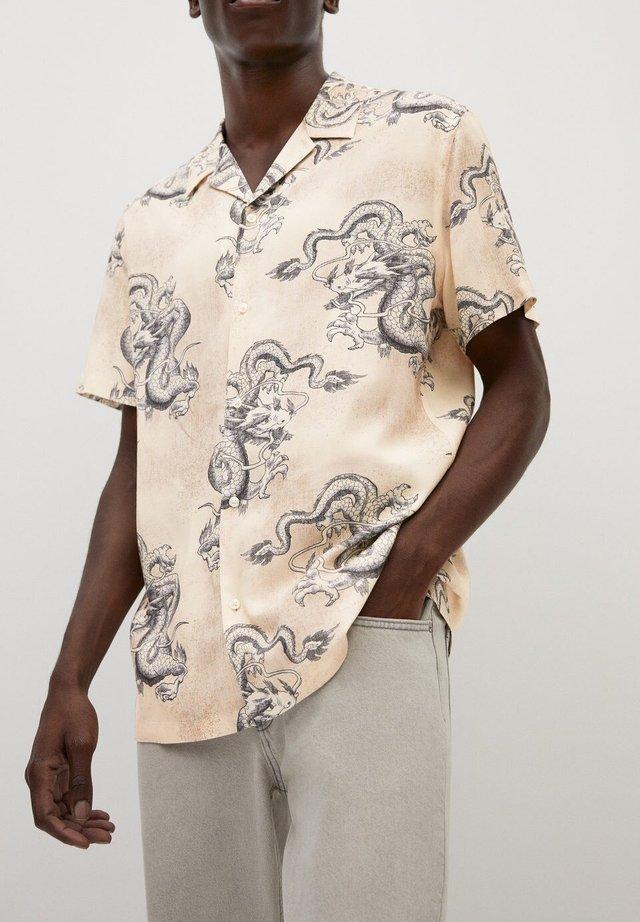 TOMASA - Hemd - beige