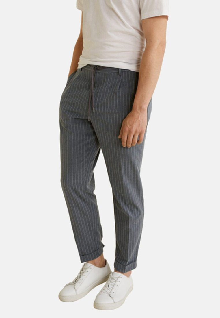Mango - NOLAN - Pantalon classique - dark heather grey