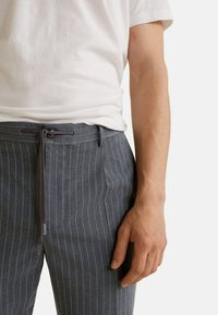 Mango - NOLAN - Pantalon classique - dark heather grey - 2