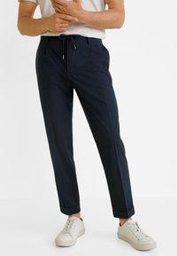 Mango - NOLAN5 - Pantalon classique - dark navy blue - 0