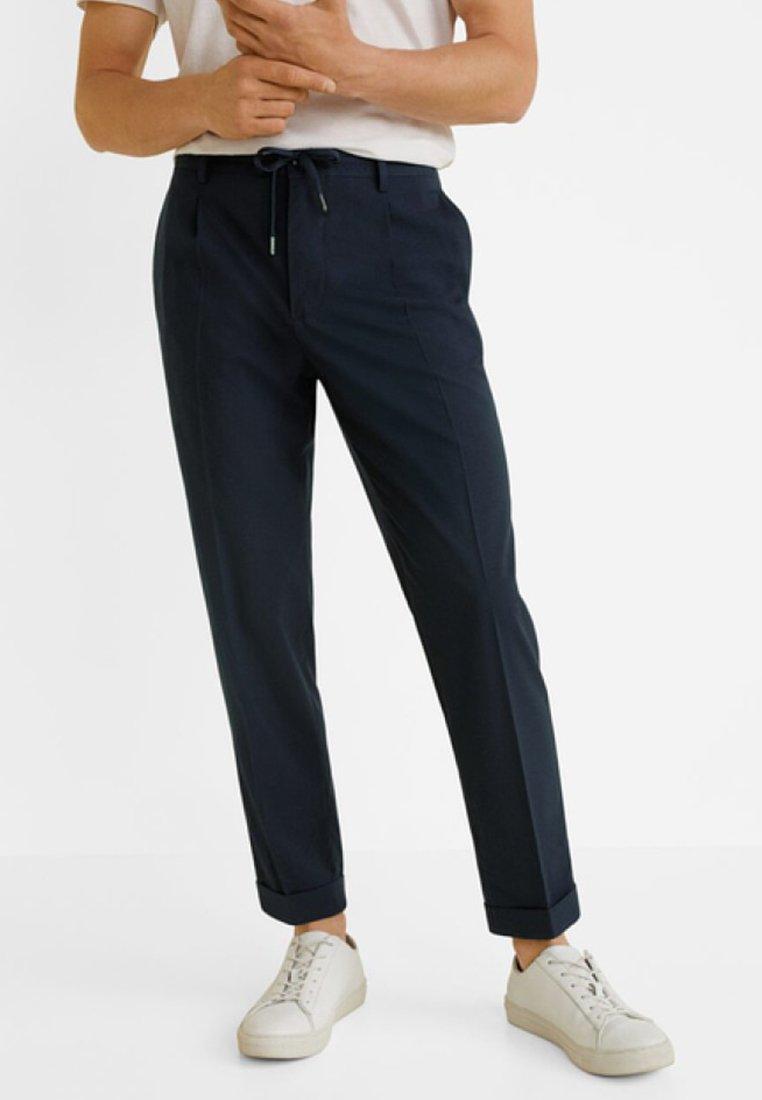 Mango - NOLAN5 - Pantalon classique - dark navy blue