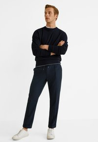 Mango - NOLAN5 - Pantalon classique - dark navy blue - 1
