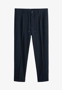 Mango - NOLAN5 - Pantalon classique - dark navy blue - 5