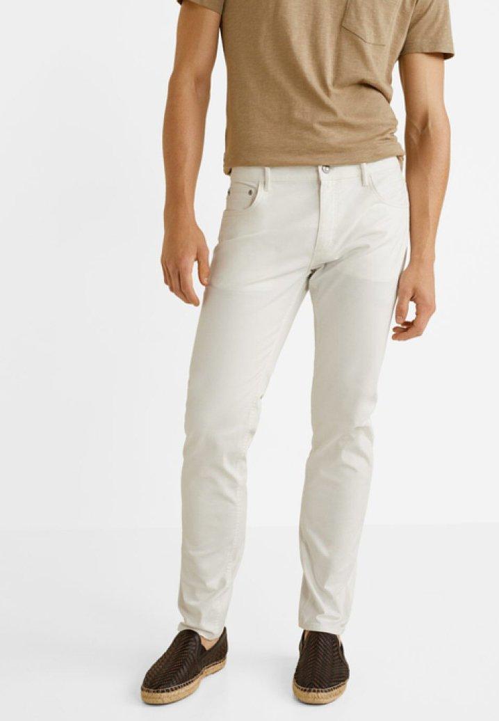 Mango - PISA - Jeansy Slim Fit - white