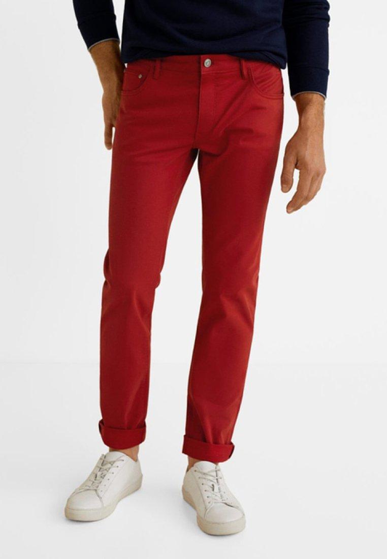 Mango - PISA - Slim fit jeans - garnet