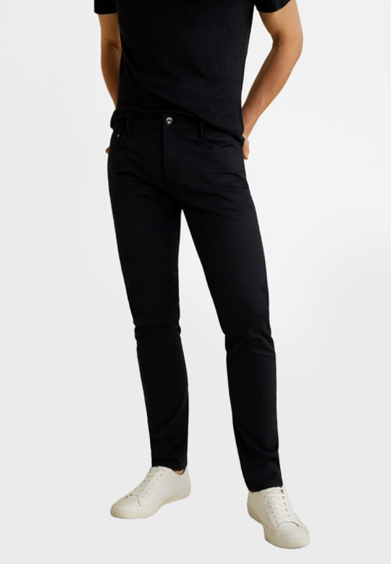 Mango - PISA - Slim fit jeans - black