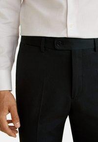 Mango - BRASILIA - Suit trousers - black - 3