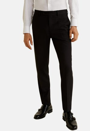 BRASILIA - Pantalon de costume - black