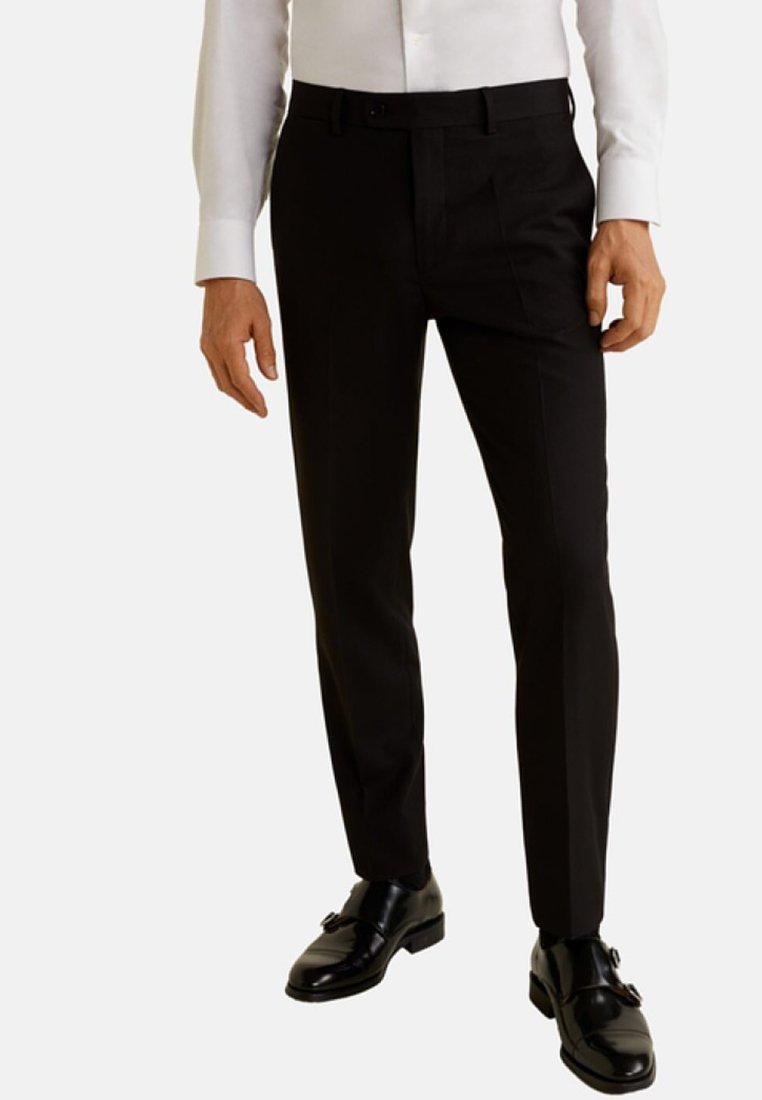 Mango - BRASILIA - Suit trousers - black