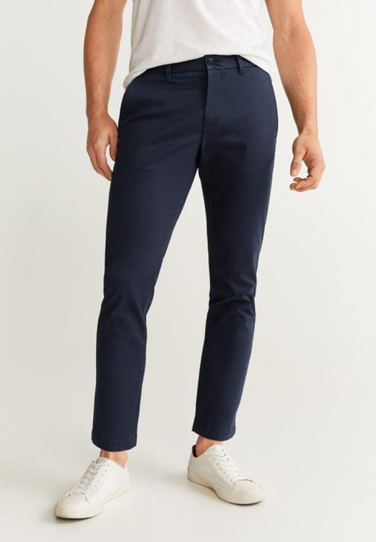 Mango - PRATO - Pantalon classique - royal blue