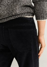 Mango - BERTO - Pantalon classique - black - 3