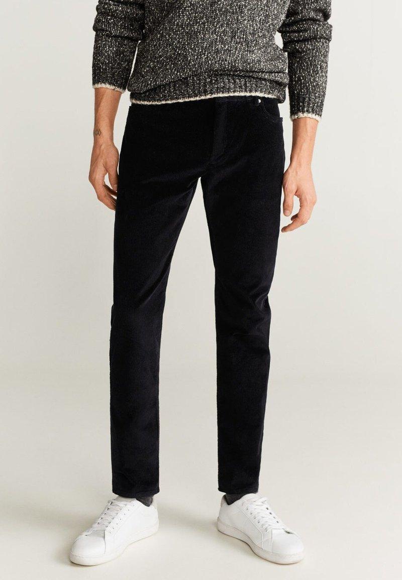 Mango - BERTO - Pantalon classique - black