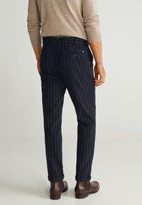 Mango - GERARDO - Pantalon classique - dark navy blue - 2