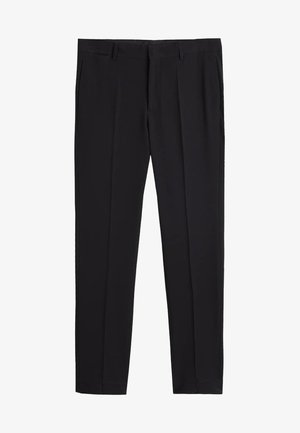 PAULO - Suit trousers - black