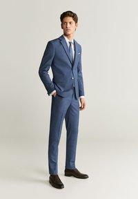 Mango - BRASILIA - Pantalon de costume - dark gray - 1