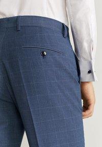 Mango - BRASILIA - Pantalon de costume - dark gray - 4