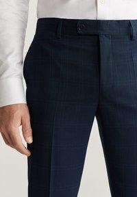 Mango - BRASILIA - Pantalon de costume - dark navy blue - 3