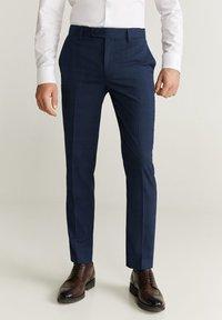 Mango - BRASILIA - Pantalon de costume - dark navy blue - 0