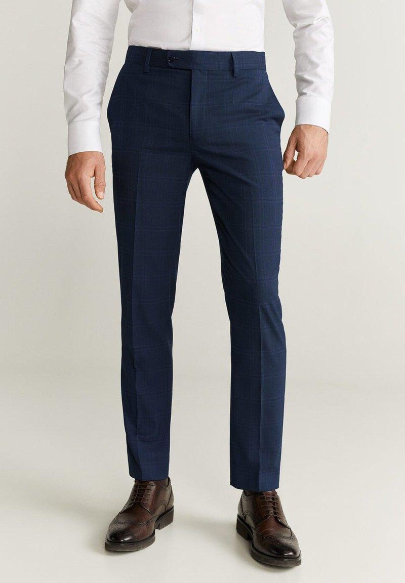 Mango - BRASILIA - Pantalon de costume - dark navy blue