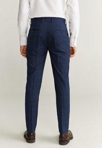 Mango - BRASILIA - Pantalon de costume - dark navy blue - 2