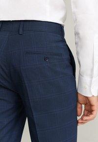 Mango - BRASILIA - Pantalon de costume - dark navy blue - 4