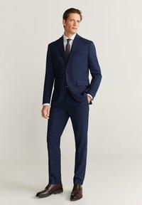 Mango - BRASILIA - Pantalon de costume - dark navy blue - 1