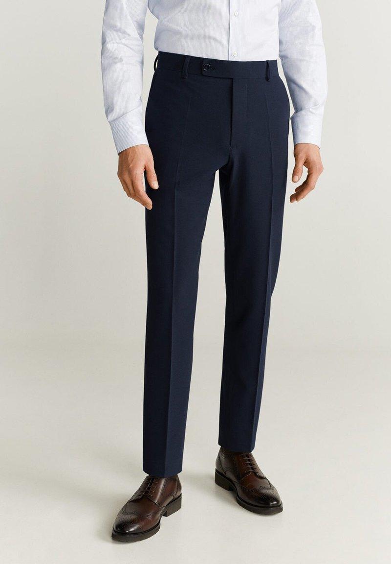 Mango - BRASILIA - Pantaloni eleganti - royal blue
