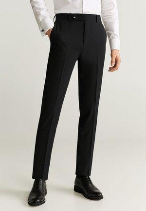BRASILIA - Pantalón de traje - black