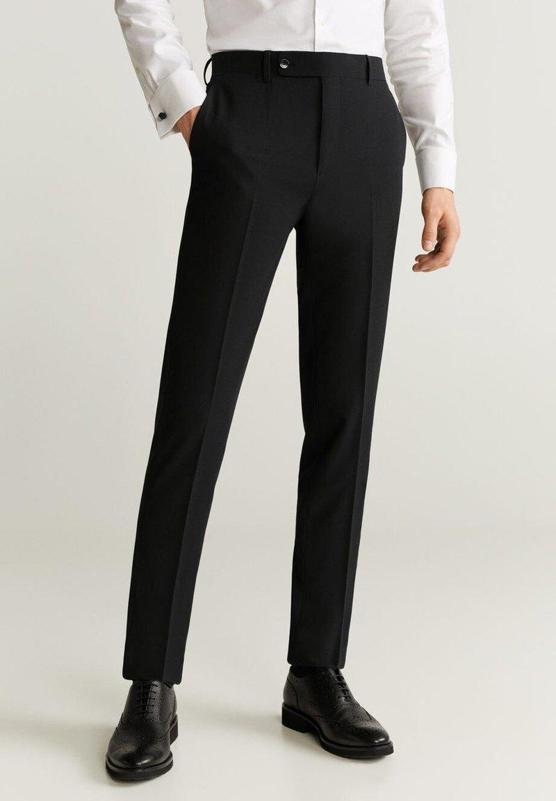 Mango - BRASILIA - Pantaloni eleganti - black