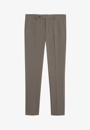 BRASILIA - Trousers - beige