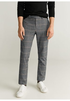 HARVEY - Trousers - gray