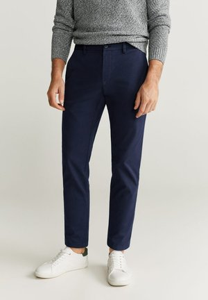 PRATO6 - Pantalon classique - dunkles marineblau