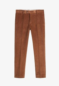 Mango - SLIM FIT-CORDHOSE - Pantalon classique - mittelbraun - 5