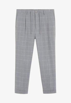 NOLAN6 - Pantaloni - hellgrau meliert