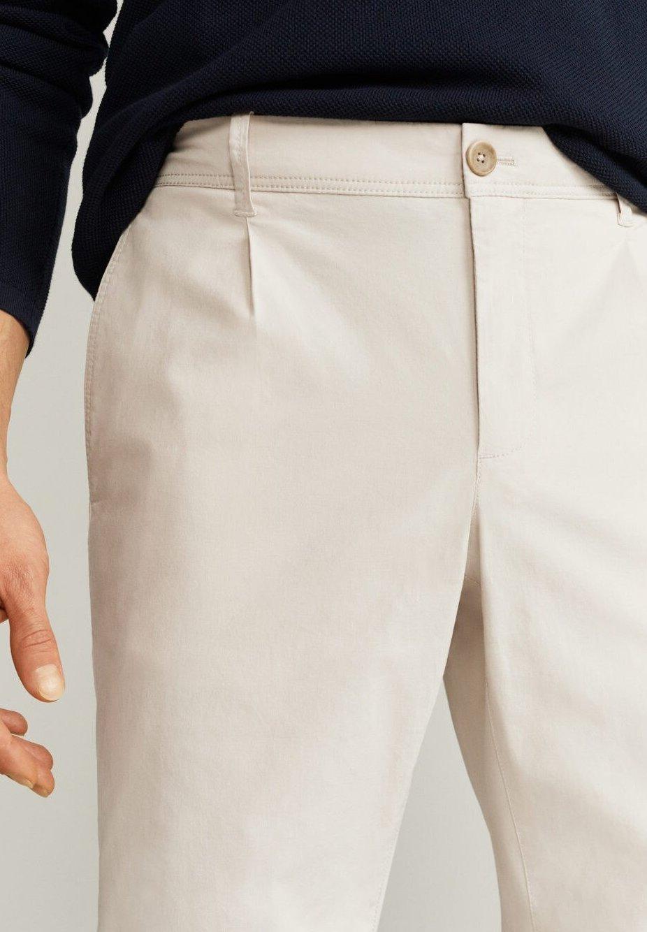 Mango Harrison - Pantaloni Eisgrau vnutG