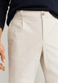 Mango - HARRISON - Pantaloni - eisgrau - 3