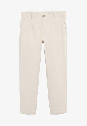 HARRISON - Spodnie materiałowe - eisgrau