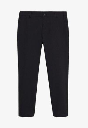 BOLOGNA - Spodnie materiałowe - schwarz