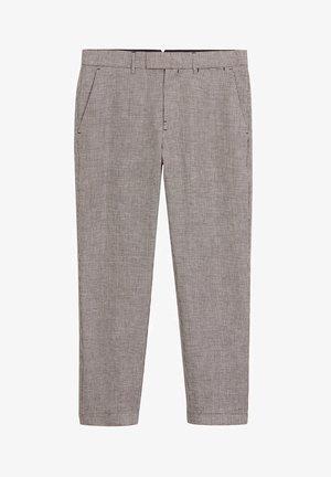 BOKI - Trousers - weinrot