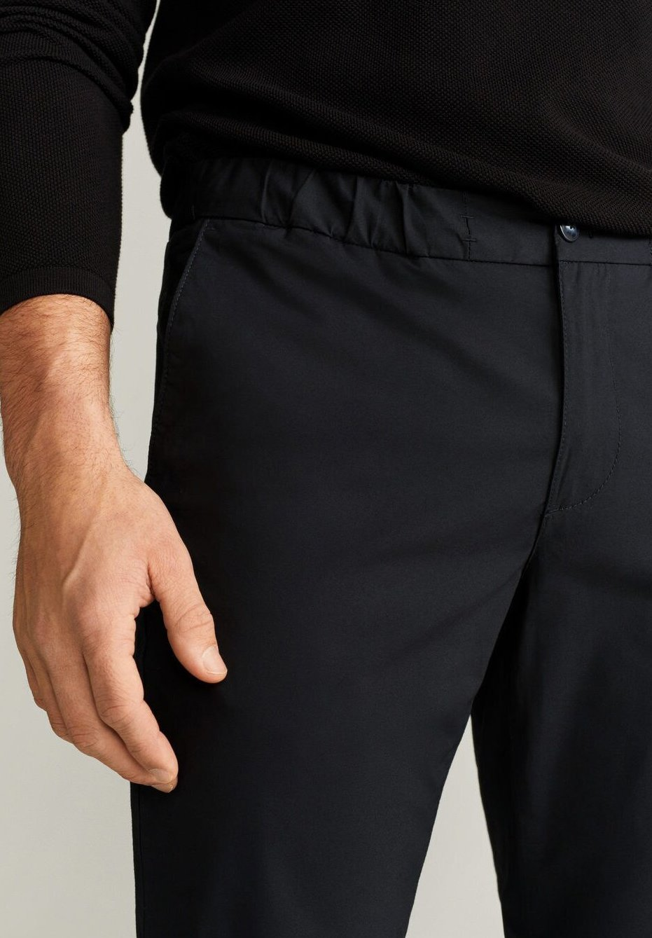 Mango ROMA - Pantaloni - marineblau