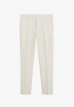 FLORIDA - Pantalon de costume - ecru