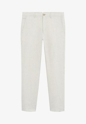 OYSTER - Pantalon classique - ecru