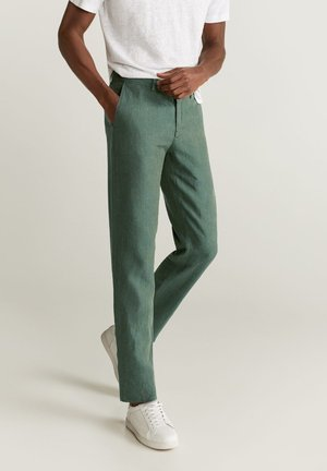 OYSTER - Pantaloni - mittelgrün