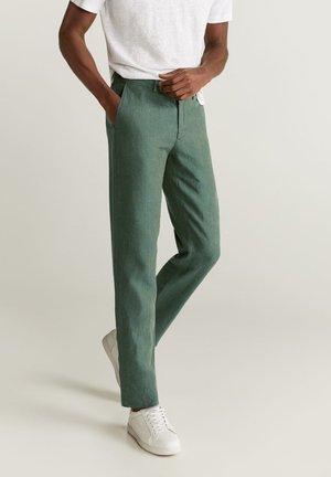 OYSTER - Pantalon classique - mittelgrün