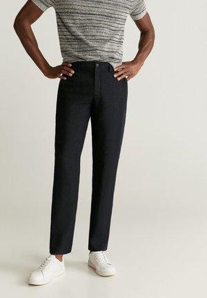 OYSTER - Spodnie materiałowe - schwarz