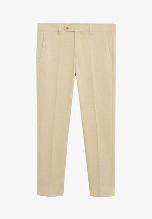 CIRCUTAK - Pantalon de costume - beige