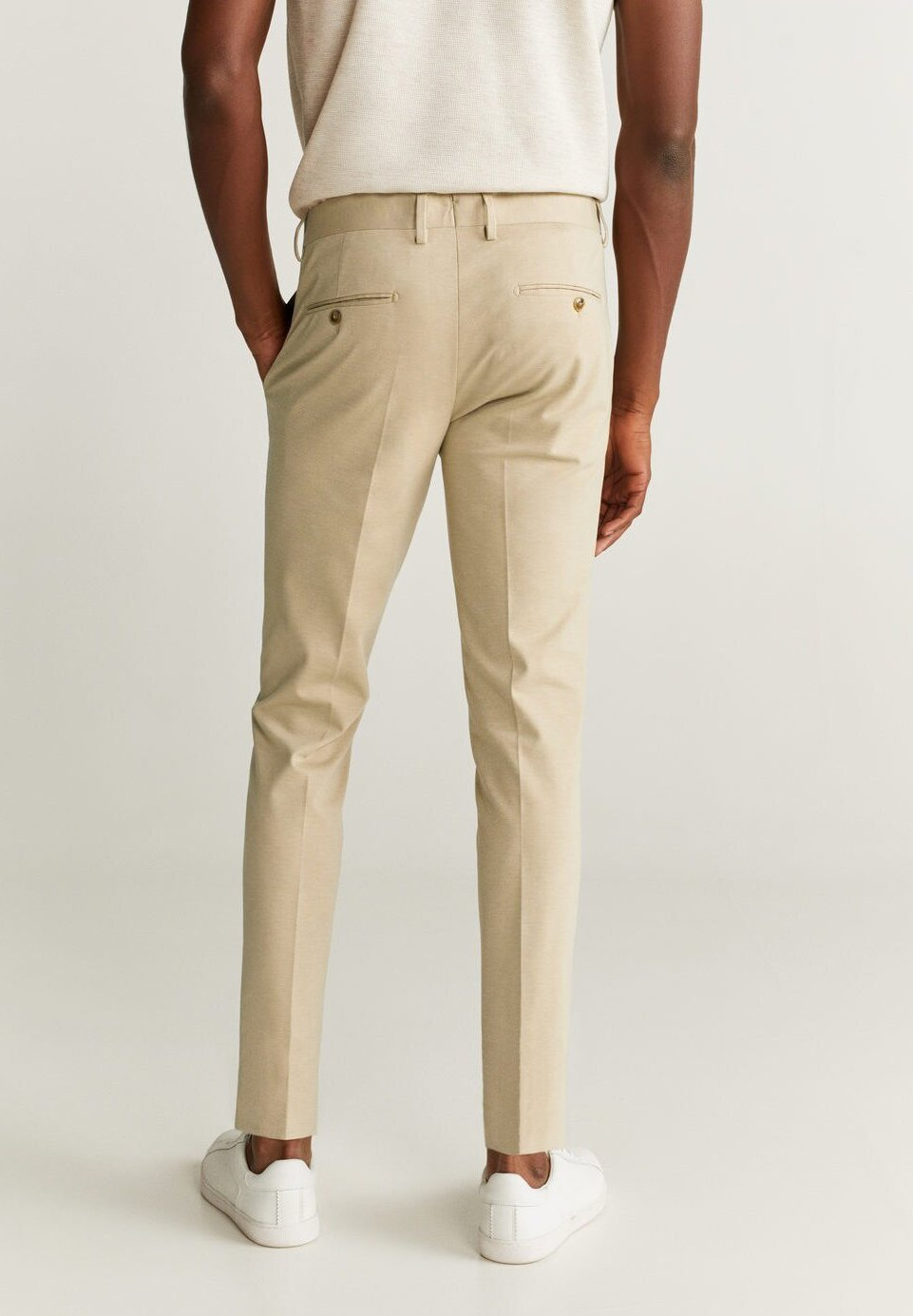 CIRCUTAK Anzughose beige
