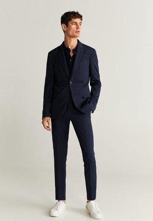 CIRCUTAK - Pantalon de costume - dunkles marineblau