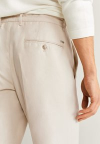 Mango - VIBES - Trousers - ecru - 3