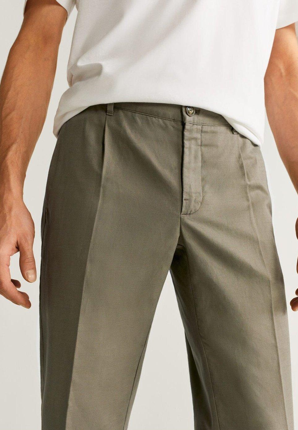 Mango Vibes - Pantaloni Khaki BPItmog